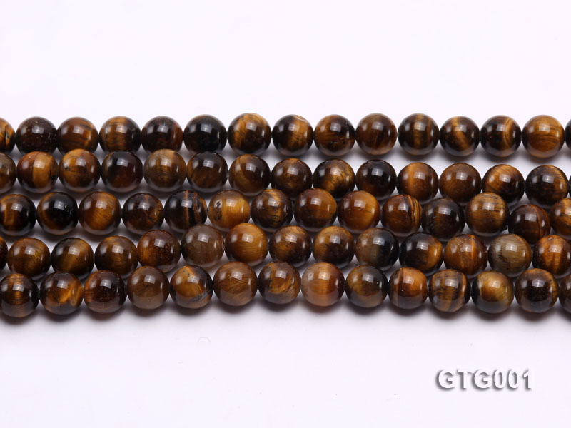 Wholesale 8mm Round Tiger Eye Strings big Image 2