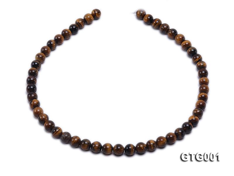 Wholesale 8mm Round Tiger Eye Strings big Image 4