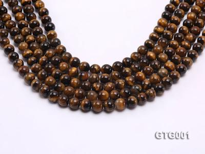 Wholesale 8mm Round Tiger Eye Strings GTG001 Image 1