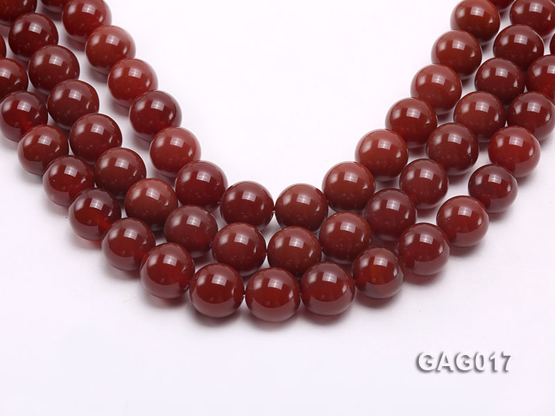 wholesale 16mm round red agate strings big Image 1