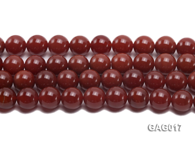wholesale 16mm round red agate strings big Image 2