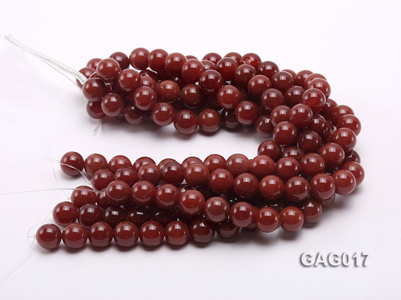 wholesale 16mm round red agate strings big Image 3