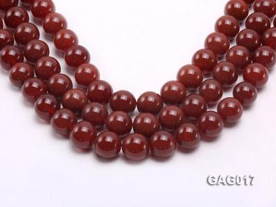 wholesale 16mm round red agate strings GAG017 Image 1
