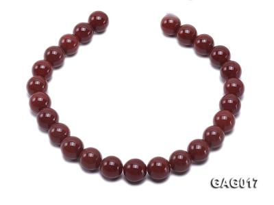 wholesale 16mm round red agate strings GAG017 Image 4