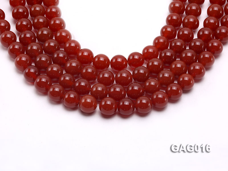 wholesale 14mm round red agate strings big Image 1