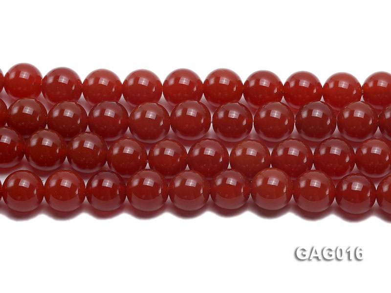 wholesale 14mm round red agate strings big Image 2