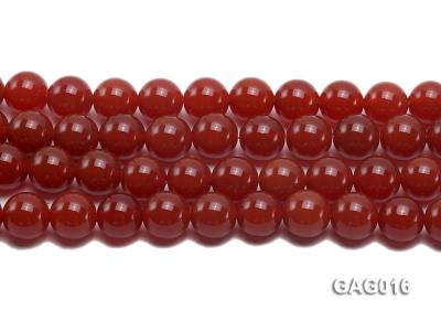 wholesale 14mm round red agate strings GAG016 Image 2