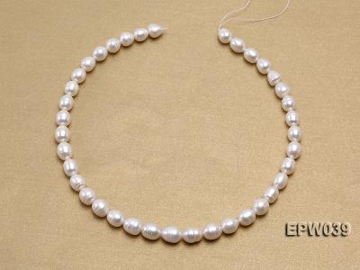 Wholesale 7-8mm Classic White Rice-shaped Freshwater Pearl String EPW039 Image 3