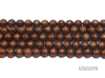 Wholesale 10mm Round Golden Coral Beads Loose String CRW079 Image 2