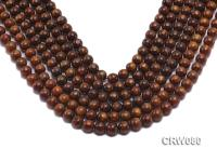 Wholesale 8.5mm Round Golden Coral Beads Loose String CRW080