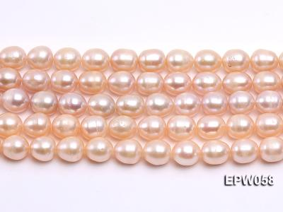 Wholesale 10x11mm White Rice-shaped Freshwater Pearl String EPW058 Image 1