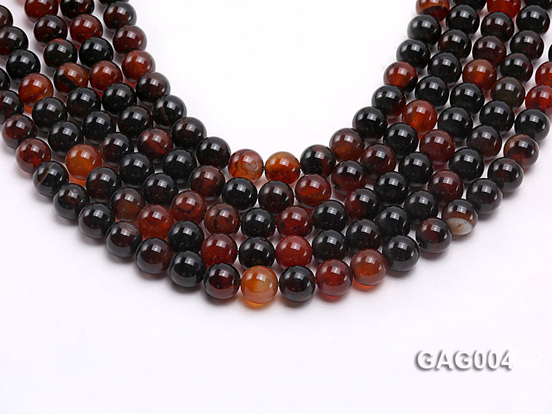 wholesale 10mm round agate strings big Image 1