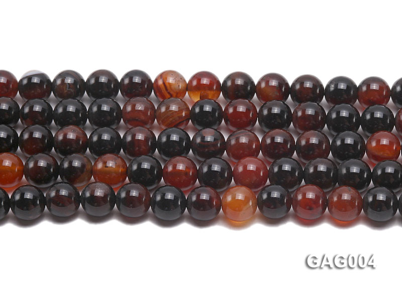 wholesale 10mm round agate strings big Image 2