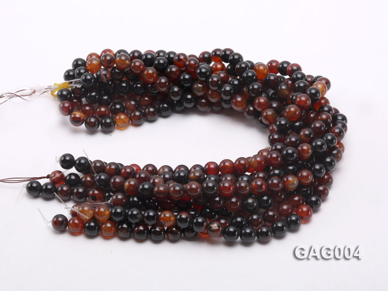 wholesale 10mm round agate strings big Image 3