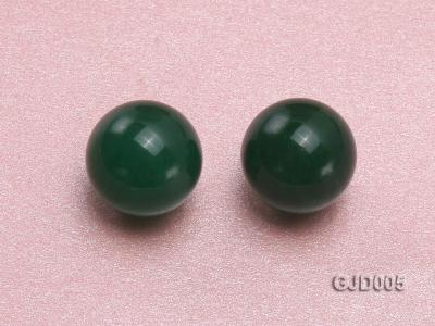 Wholesale 12mm Round Green Jade Beads  GJD005 Image 2
