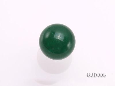Wholesale 12mm Round Green Jade Beads  GJD005 Image 3