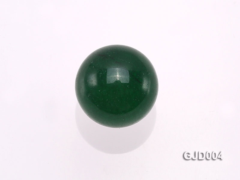 Wholesale 10mm Round Green Jade Beads  big Image 3