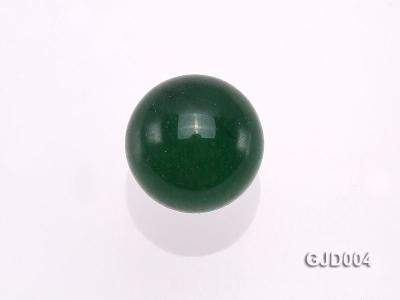 Wholesale 10mm Round Green Jade Beads  GJD004 Image 3