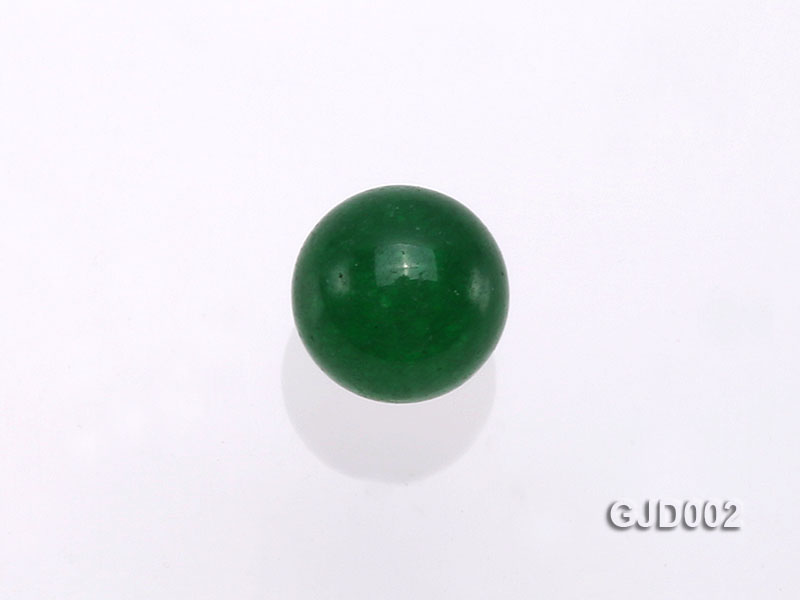 Wholesale 6mm Round Green Jade Beads  big Image 3