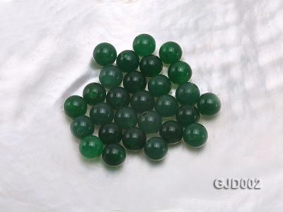 Wholesale 6mm Round Green Jade Beads  GJD002 Image 1