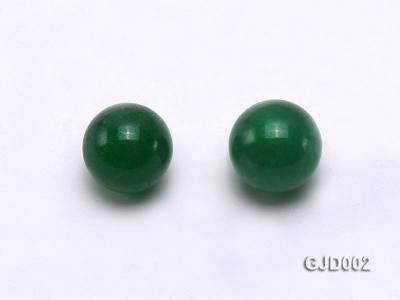 Wholesale 6mm Round Green Jade Beads  GJD002 Image 2