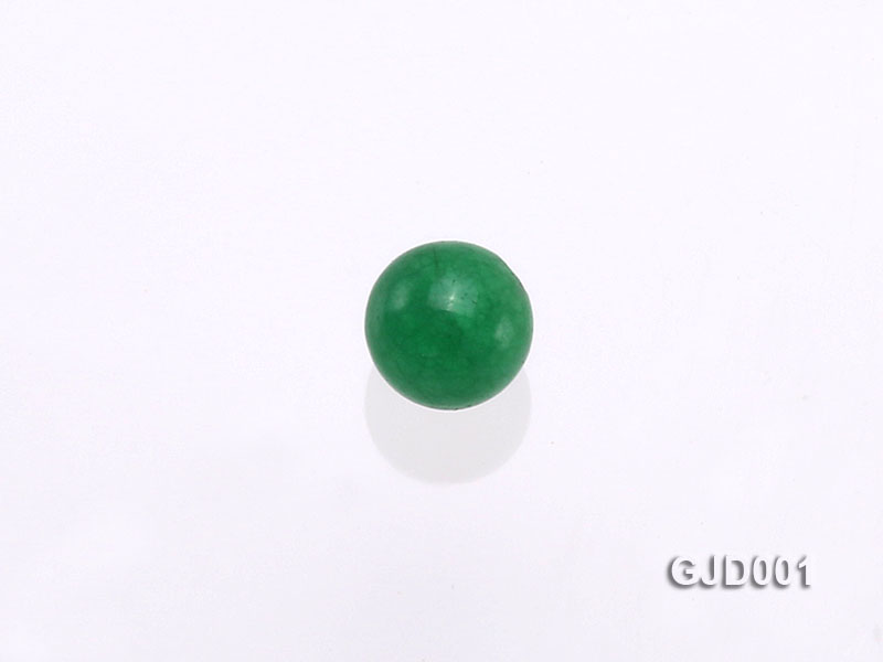 Wholesale 4mm Round Green Jade Beads  big Image 3