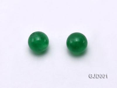 Wholesale 4mm Round Green Jade Beads  GJD001 Image 2