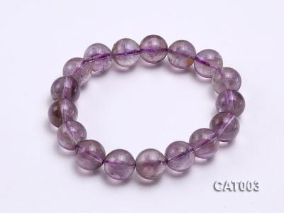 12mm Round Ametrine Beads elasticated Bracelet CAT003 Image 1
