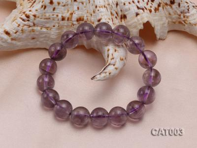12mm Round Ametrine Beads elasticated Bracelet CAT003 Image 2