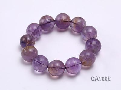 16mm Round Ametrine Beads elasticated Bracelet CAT005 Image 1