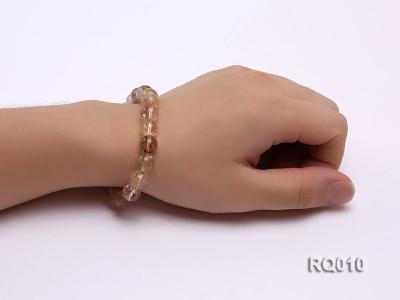 10mm Rutilated Quartz Beads Elastic Bracelet RQ010 Image 4