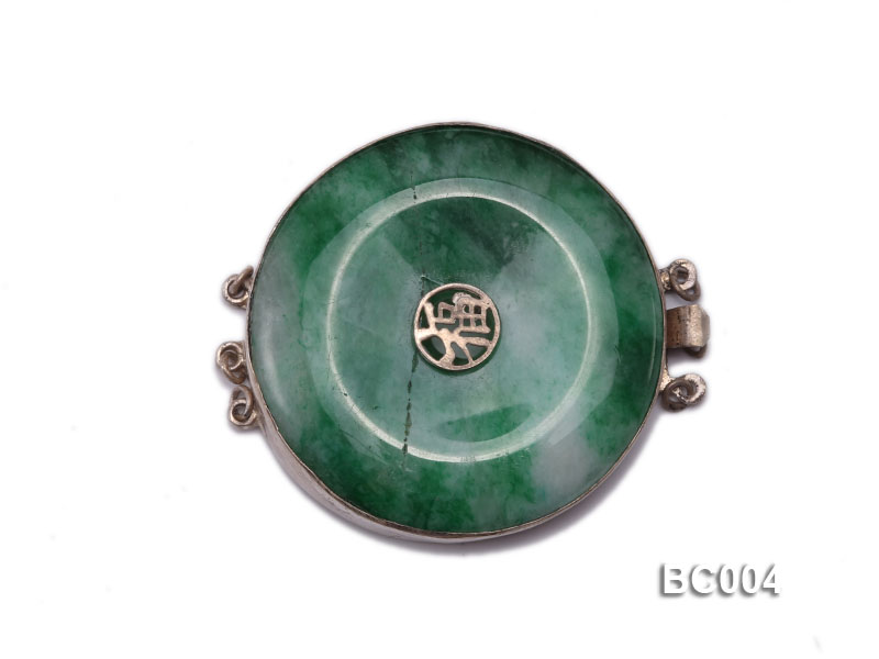40mm Three-Row  jade clasp big Image 1