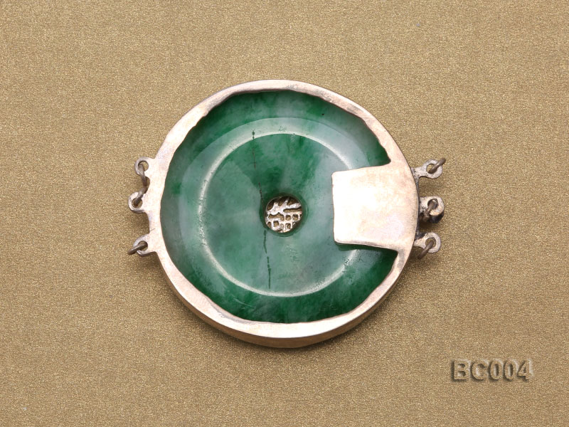40mm Three-Row  jade clasp big Image 2