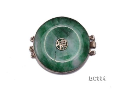 40mm Three-Row  jade clasp BC004 Image 1