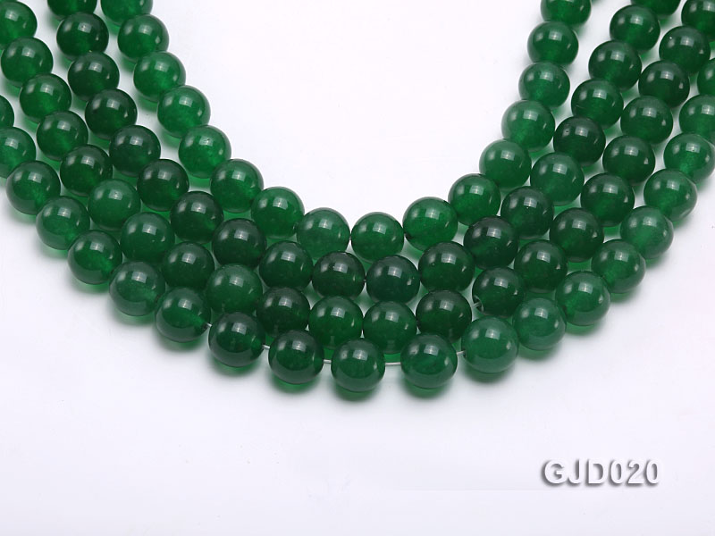 Wholesale 10mm Round Malay Jade String big Image 1