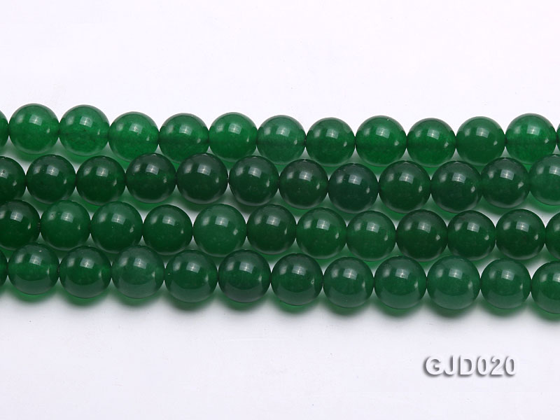 Wholesale 10mm Round Malay Jade String big Image 2