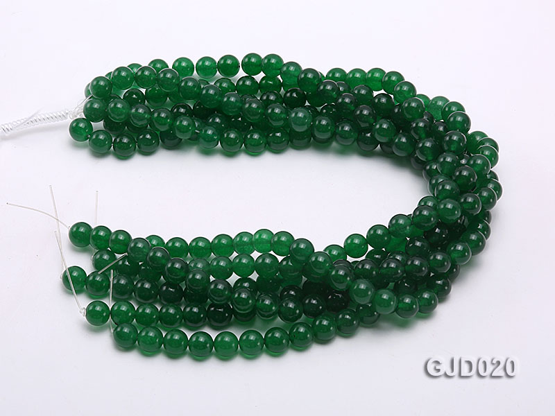 Wholesale 10mm Round Malay Jade String big Image 3