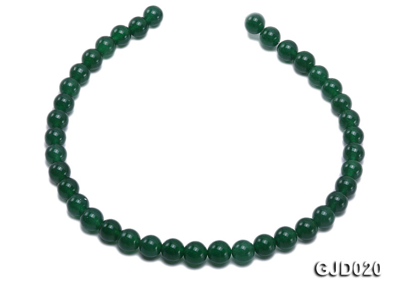 Wholesale 10mm Round Malay Jade String big Image 4