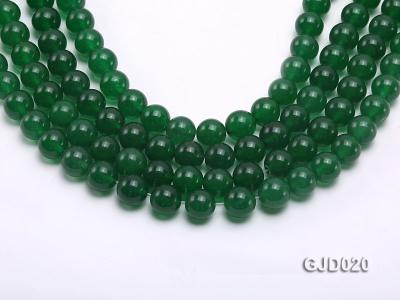 Wholesale 10mm Round Malay Jade String GJD020 Image 1