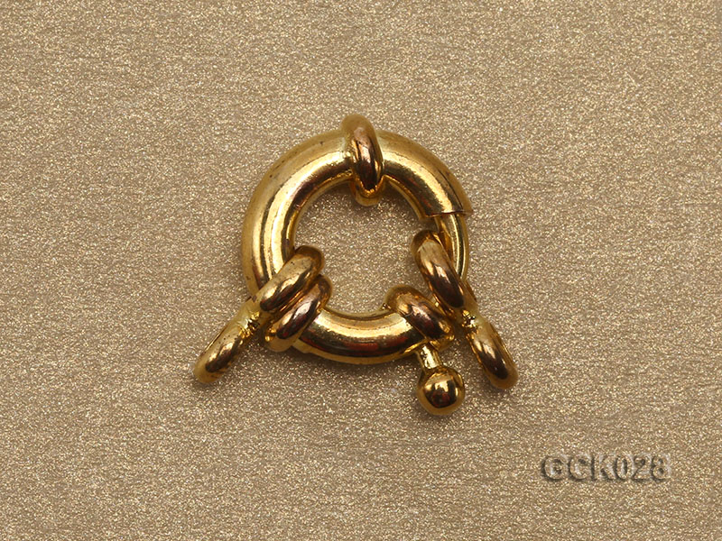 11mm Single-strand Gilded Clasp big Image 2