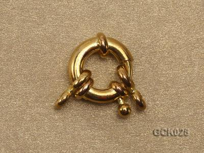 11mm Single-strand Gilded Clasp GCK028 Image 2