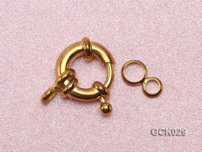 13mm Single-strand Gilded Clasp GCK029 Image 3