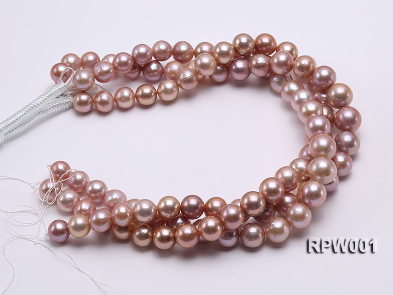 Selected AAA 13-16mm Natural Round Edison Pearl loose String big Image 3