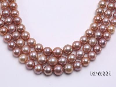 Selected AAA 13-16mm Natural Round Edison Pearl loose String RPW001 Image 1