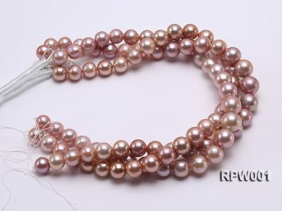 Selected AAA 13-16mm Natural Round Edison Pearl loose String RPW001 Image 3