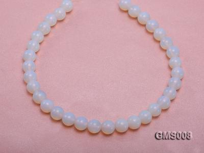 Wholesale 12mm Cream Round Moonstone String GMS008 Image 4