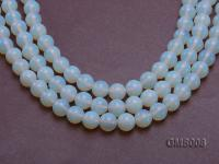 Wholesale 12mm Cream Round Moonstone String GMS008