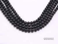 wholesale 10mm faceted round Blue Sandstone strings GBS002