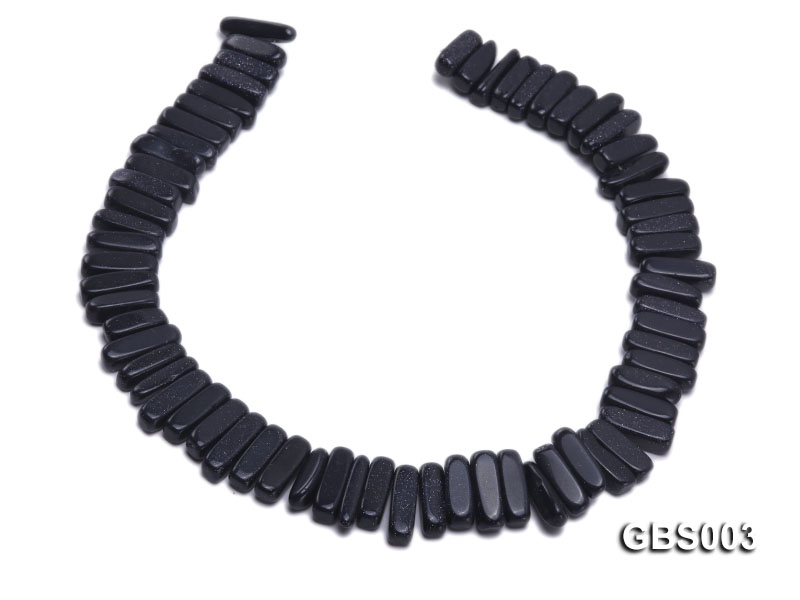 wholesale 6x20mm stick-shaped Blue Sandstone strings big Image 4