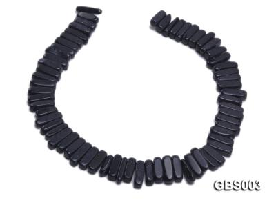 wholesale 6x20mm stick-shaped Blue Sandstone strings GBS003 Image 4